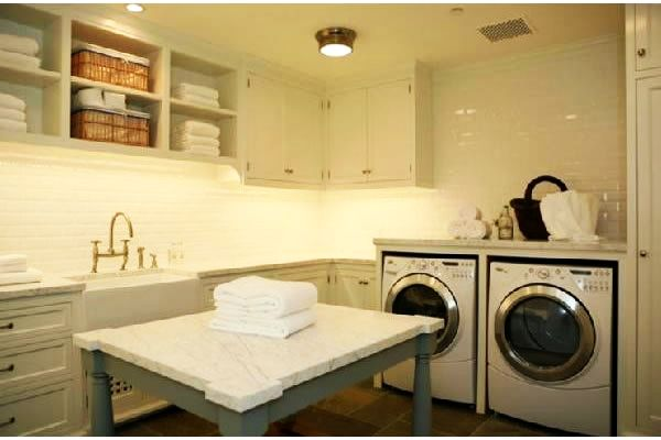 Laundry Table Ideas 25 ingenious pallet projects and ideas View In Gallery Traditional Style Laundry Room