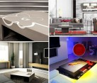 cool concrete tables