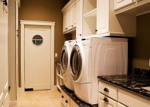 custom designed laundry room
