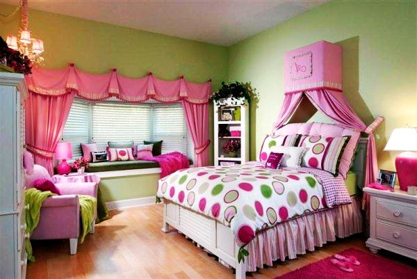 7 Inspiring Kid Room Color Options For Your Little Ones: Teenage Girls Rooms Inspiration: 55 Design Ideas