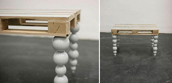 pallet furniture recycling pallets into unique furniture. Black Bedroom Furniture Sets. Home Design Ideas