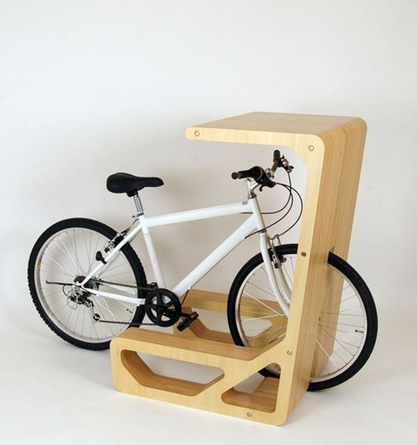 desk bike Bike Desk   urban furniture design for eco friendly persons