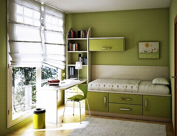 Bedroom Ideas For Teenage Girls Green teenage girls rooms inspiration: 55 design ideas