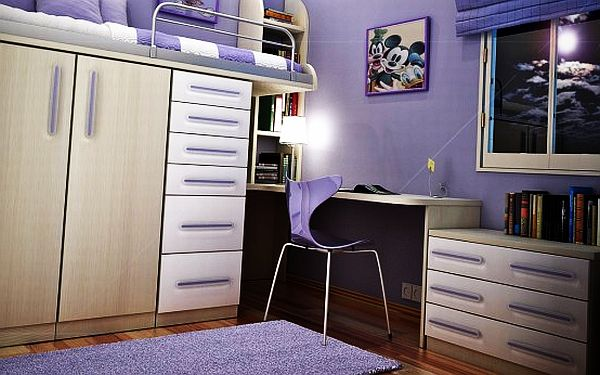 Teenage girls rooms inspiration 55 design ideas for Room design 3x3
