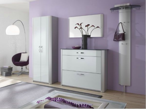 glossy contemporary shoe cabinets