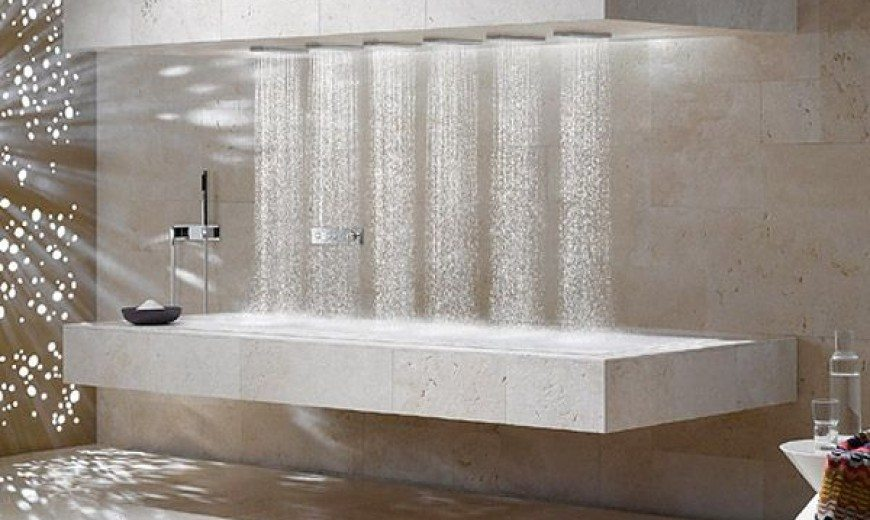 Horizontal Shower Reveals New Dimension; But Who Needs It?