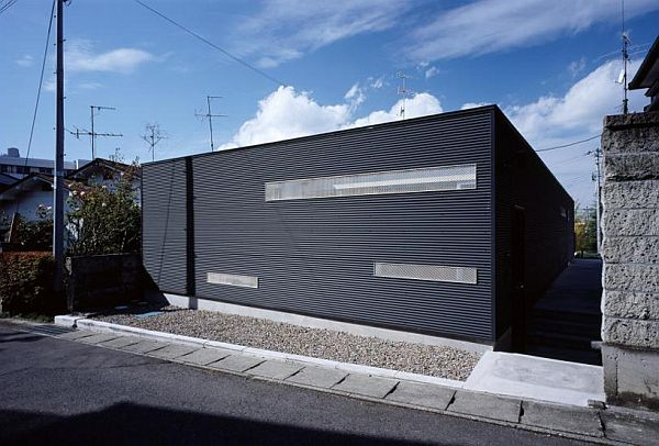 house wrapping three voids 1 Japan House Wrapping Voids Focuses More on the Privacy Aspect