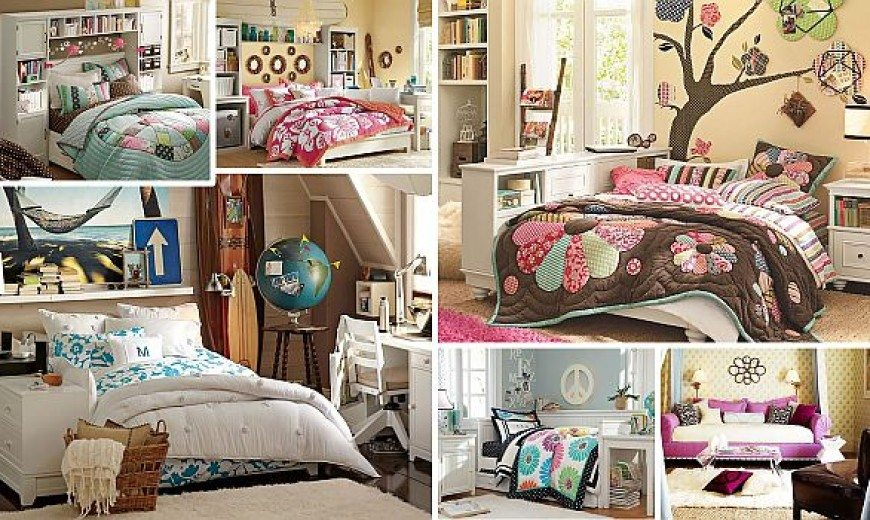 Teenage Girls Rooms Inspiration: 55 To Design