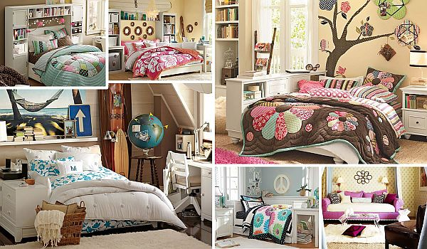 Teenage girls rooms inspiration 55 design ideas - Fotos de habitaciones juveniles modernas ...