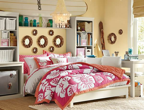 Beau ... Girls Bedroom Design View In Gallery Large ...