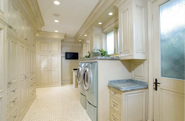 View in gallery Stylish laundry room ... - 30+ Coolest Laundry Room Design Ideas For Today's Modern Homes