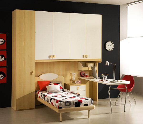 minimalist Teenage Boys Rooms