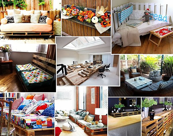 pallet furniture ideas Ultimate Pallet Furniture Collection: 58 Unique Ideas