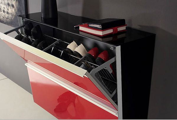 25 shoe storage cabinets ideas Stylish shoe rack