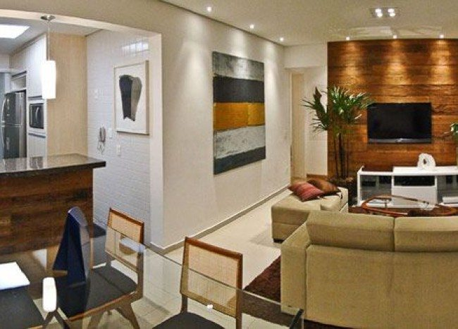 Charming Apartment Putti in Sao Paolo: When Small Spaces Look Big