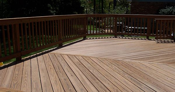 stain and seal decking treatment