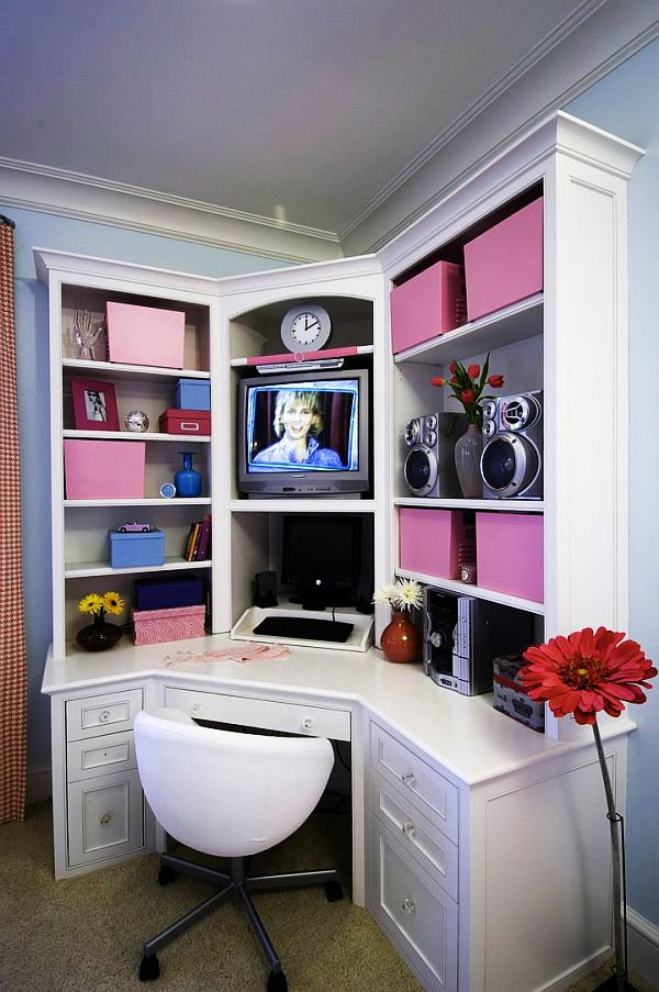 girls bedroom idea view in gallery study - Teen Girl Room Furniture