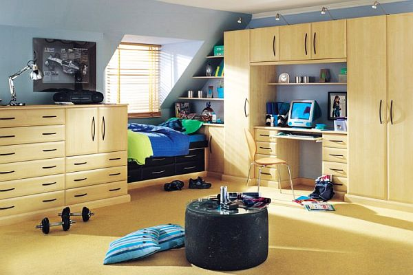 Teen bedroom for boys decoist Bedroom designs for teenagers boys