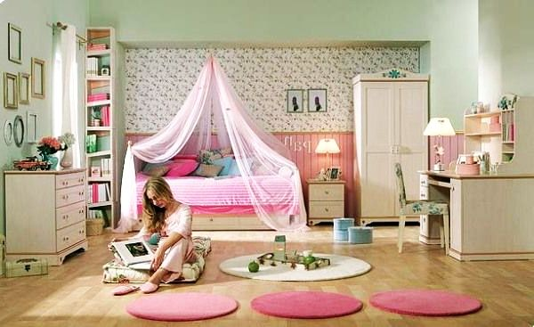 ... Girls Bedroom Idea View In Gallery Floral Inspiration: Teen ...