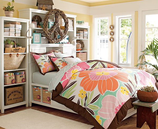... Bed For Teenage Girls Rooms View In Gallery Tropical ...