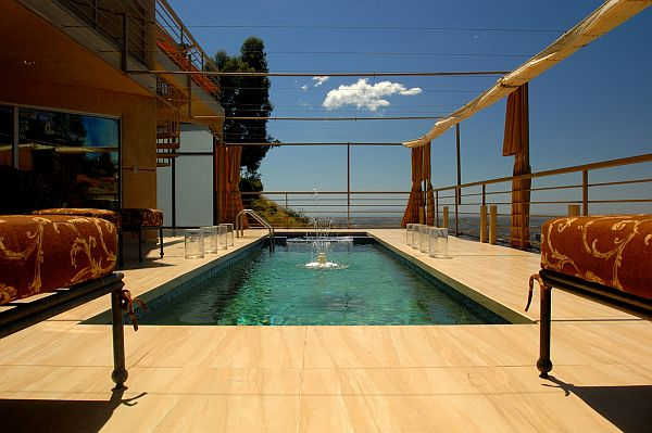 ultimate bachelor pad with roof top pool