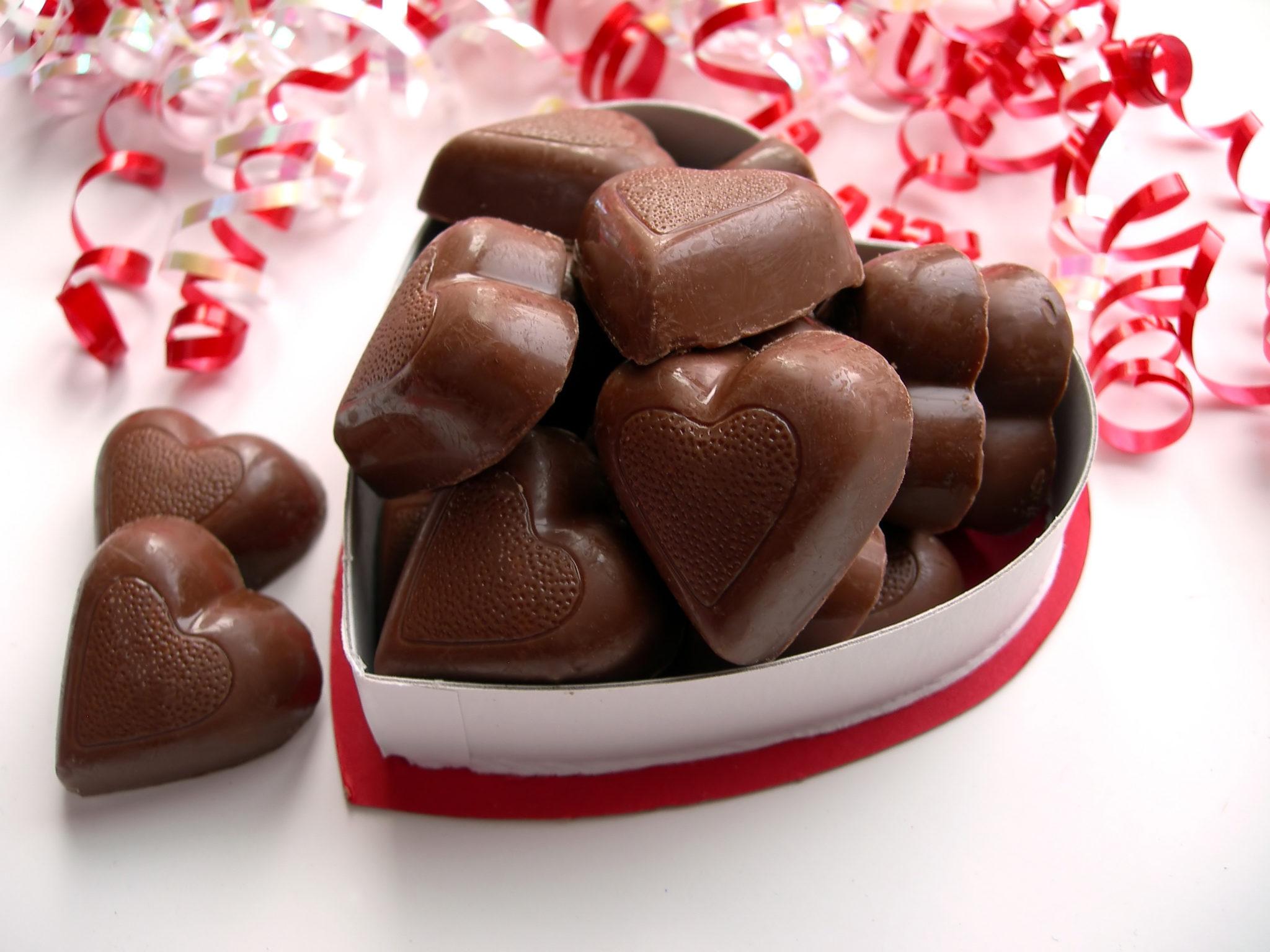 valentines day chocolate