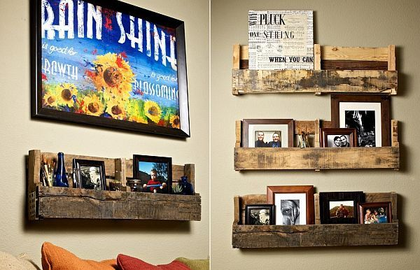 wall hanging pallet shelf Ultimate Pallet Furniture Collection: 58 Unique Ideas