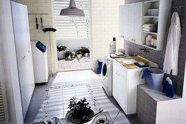 white laundry room ideas
