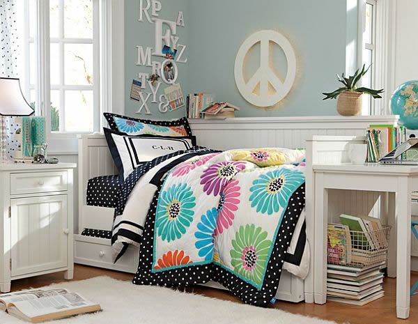 Teenage girls rooms inspiration 55 design ideas for Girl bedrooms ideas