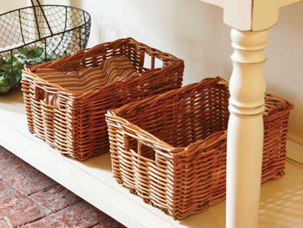 Another Very Common Kind Of Wicker Basket