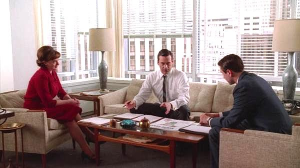 A Mid Century Office Mid Century Modern Design Ideas Inspired by Mad Men