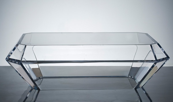 AVF Bullet Acrylic Coffee Table