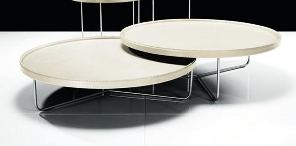 Adelphi Coffee Table Set With White Lacquer Tops 25 Sleek Lacquer Furniture Finds
