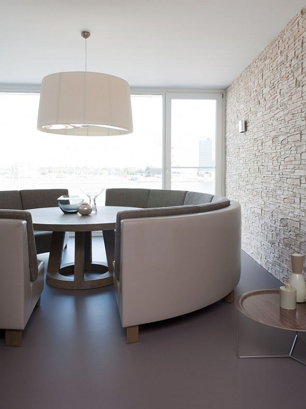 Keuken Hoekbank Met Tafel : Round Table for Banquette