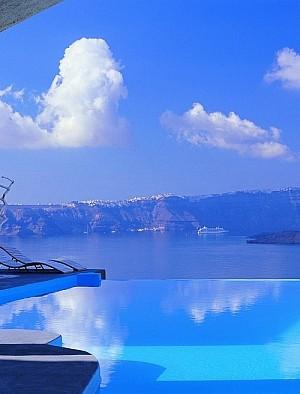 Astarte Suites Santorini exterior pool