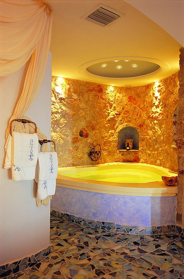 Astarte Suites Santorini luxury bathroom