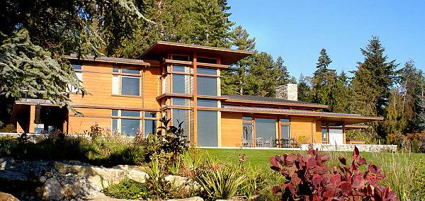 Bainbridge island residence reveals a new face of luxury for Bainbridge design