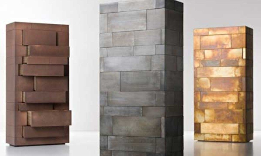Monolithic and Masculine Celato Storage Unit