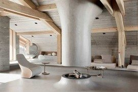 Chalet Beranger in France Sports Spectacular Design