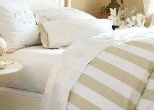 Striped Duvet Covers & Shams For a Fancy Bedroom