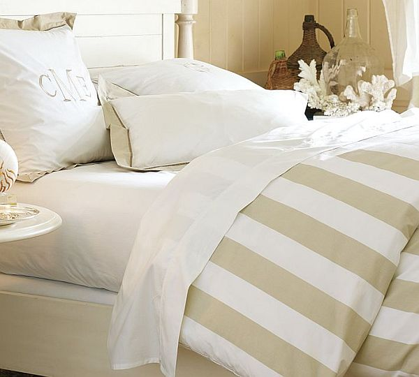 Striped Duvet Covers Amp Shams For A Fancy Bedroom