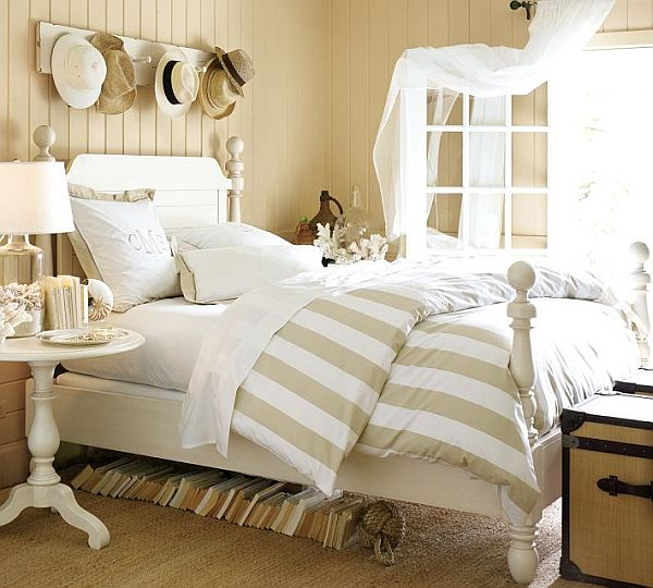 Classic Stripe Count Duvet Cover & Sham Sandalwood 2