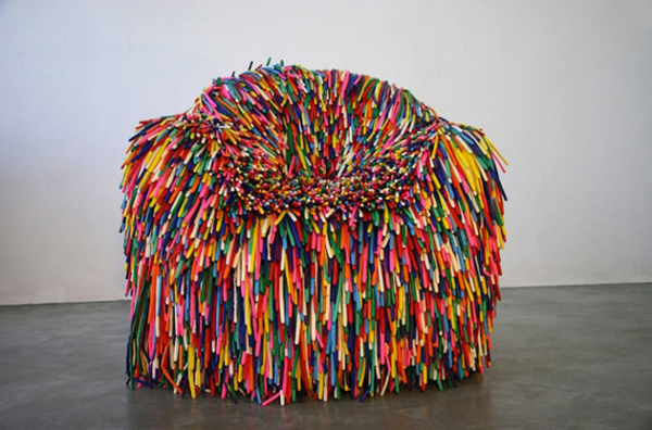 Colorful chairs by Pini Leibovich  (3)