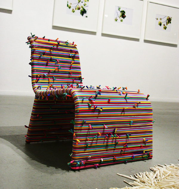 Colorful chairs by Pini Leibovich  (5)