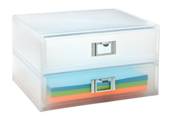 Container Store Landscape Paper Drawer