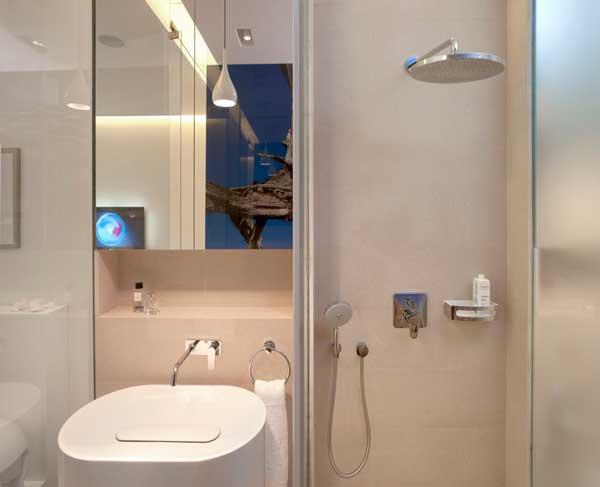 Contemporary Eko Park Apartment Interior - bathroom