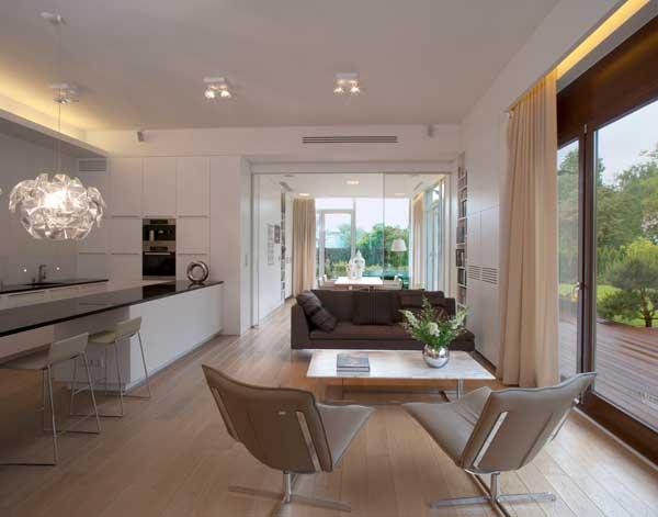 Contemporary Eko Park Apartment Interior - living room