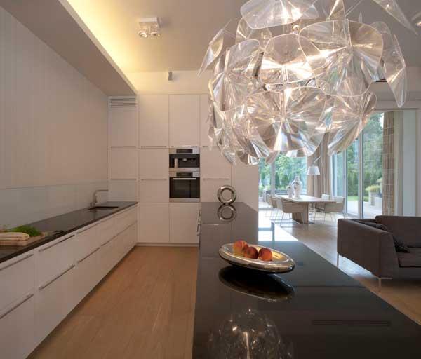 Contemporary Eko Park Apartment Interior - luxury kitchen