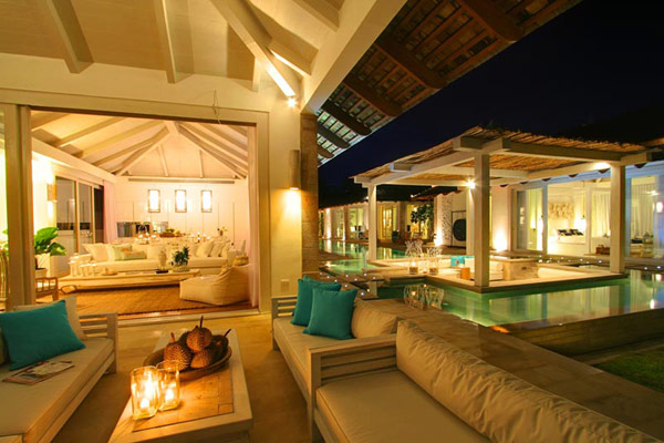 Contemporary Thailand Villa exterior pavilion Contemporary Thailand Villa Offers a Refined Experience