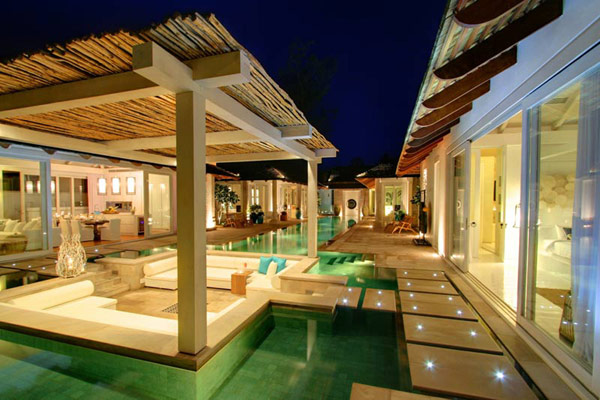 Contemporary Thailand Villa exterior pool Contemporary Thailand Villa Offers a Refined Experience